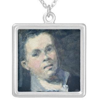 Jefe de Goya Collar Plateado