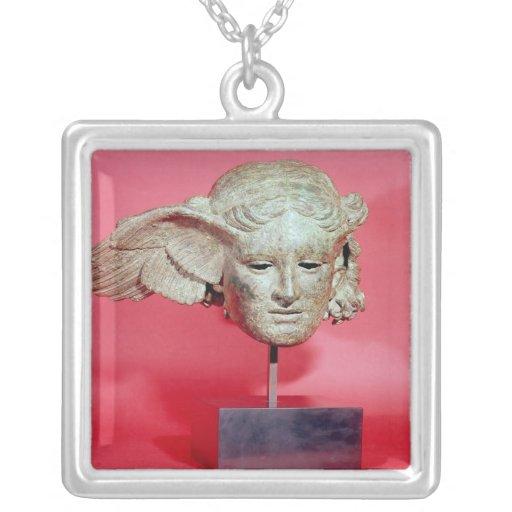 Jefe de Hypnos, copia de una original helenística Collares Personalizados
