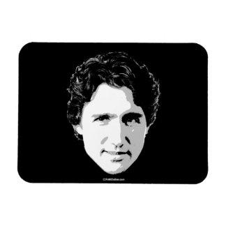 Jefe de Justin Trudeau del pelo - .png Imanes Rectangulares