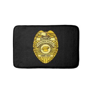 Jefe de la insignia de la policía de cocina