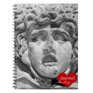 Jefe de la medusa, Turquía (cuaderno) Notebook