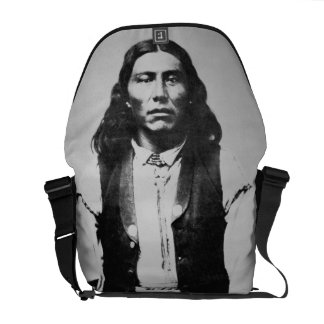 Jefe de Naiche d 1874 de los apaches de Chiricah Bolsas De Mensajeria