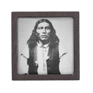 Jefe de Naiche (d.1874) de los apaches de Chiricah Cajas De Regalo De Calidad