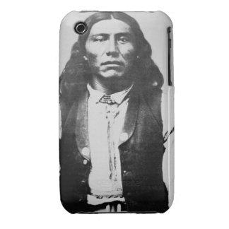 Jefe de Naiche d 1874 de los apaches de Chiricah Case-Mate iPhone 3 Fundas