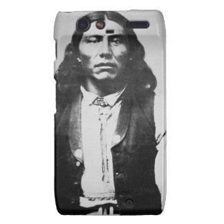 Jefe de Naiche d 1874 de los apaches de Chiricah Motorola Droid RAZR Funda