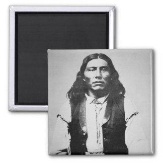 Jefe de Naiche d 1874 de los apaches de Chiricah Iman De Frigorífico
