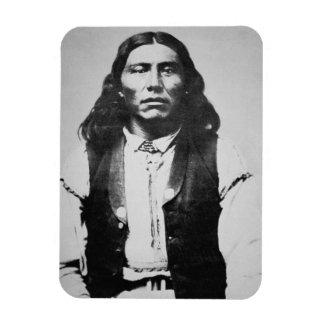 Jefe de Naiche d 1874 de los apaches de Chiricah Imanes Flexibles