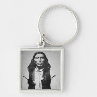 Jefe de Naiche d 1874 de los apaches de Chiricah Llaveros Personalizados