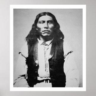 Jefe de Naiche d 1874 de los apaches de Chiricah Impresiones