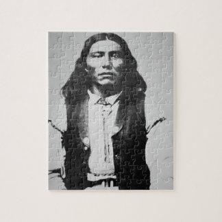 Jefe de Naiche d 1874 de los apaches de Chiricah Puzzles Con Fotos