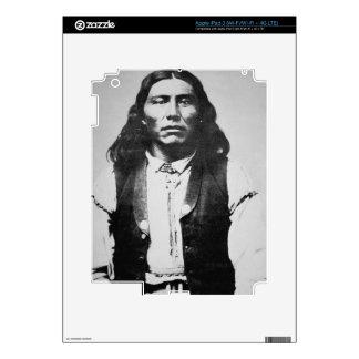 Jefe de Naiche d 1874 de los apaches de Chiricah iPad 3 Skins