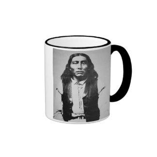Jefe de Naiche (d.1874) de los apaches de Chiricah Taza A Dos Colores