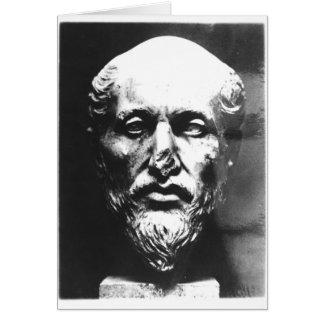 Jefe de Plotinus Tarjeta De Felicitación