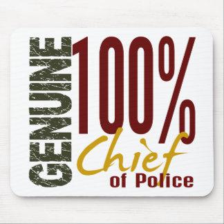Jefe de policía auténtico alfombrilla de ratones