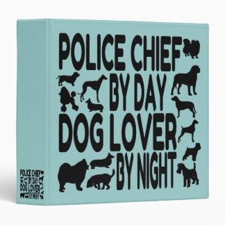 """Jefe de policía del amante del perro carpeta 1 1/2"""""""
