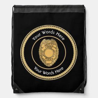 Jefe de policía del diputado universal mochila