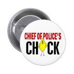 Jefe de policía del polluelo pin