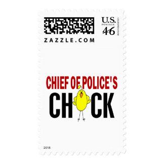 Jefe de policía del polluelo