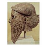 Jefe de Sargon I 2400-2200 A.C. Tarjetas Postales