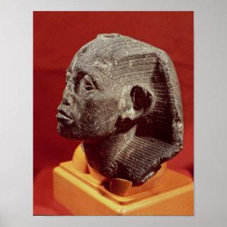Jefe de Sesostris III, de Medamud cerca Póster