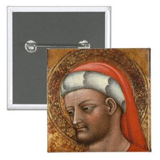 Jefe de St. Cosmas Pin Cuadrada 5 Cm