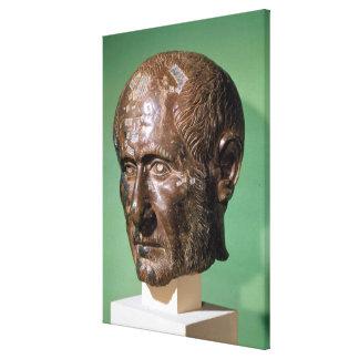 Jefe de Trajanus Decius de Samisegetuza Impresion De Lienzo