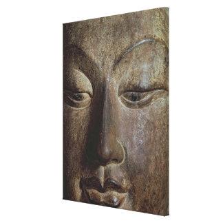 Jefe de un Bodhisattva Impresión En Lienzo Estirada
