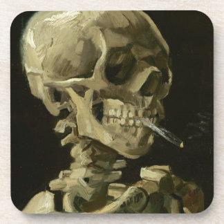 Jefe de un esqueleto posavasos
