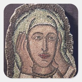 Jefe de una de las mujeres santas, de Turquía Colcomanias Cuadradases
