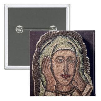 Jefe de una de las mujeres santas, de Turquía Pin Cuadrada 5 Cm