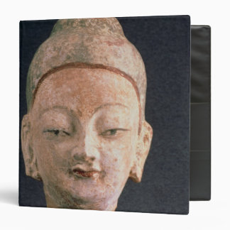 Jefe de una estatua de Buda, de Bezeklik