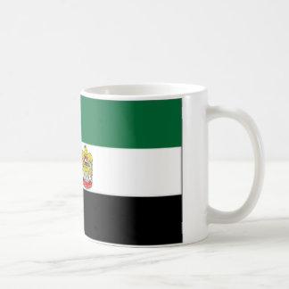 Jefe de United Arab Emirates de bandera del estado Taza Básica Blanca