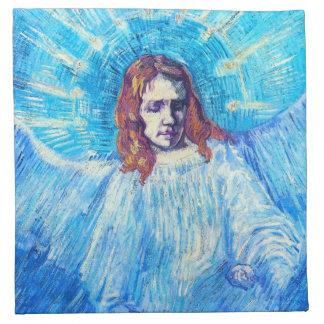 Jefe de Van Gogh de las servilletas de un ángel