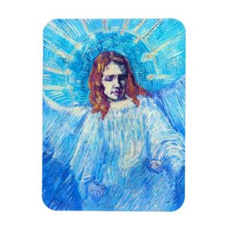 Jefe de Van Gogh de un imán del ángel