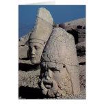 Jefe de Zeus-Oromandes y una diosa Felicitaciones