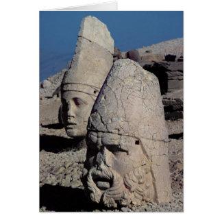 Jefe de Zeus-Oromandes y una diosa Tarjeta De Felicitación
