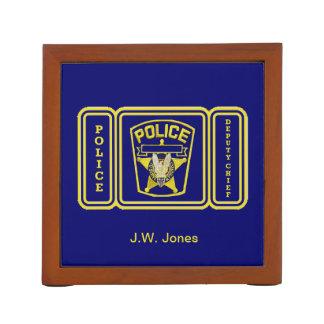 Jefe del diputado policía