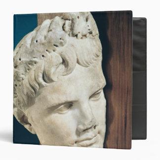 """Jefe del emperador Augustus 27-17 A.C. Carpeta 1 1/2"""""""