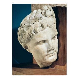 Jefe del emperador Augustus 27-17 A.C. Tarjetas Postales