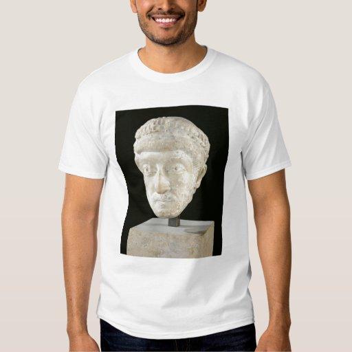 Jefe del emperador Theodosius II Playeras