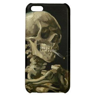 Jefe del esqueleto con el cigarrillo de Van Gogh
