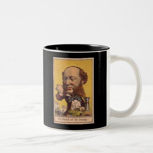 jefe del montón taza