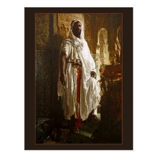 Jefe del Moorish de Eduard Charlemont Postales