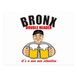 JEFE DOBLE DE BRONX TARJETAS POSTALES