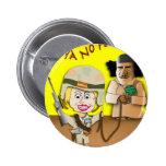 Jefe Hillary Pin Redondo 5 Cm