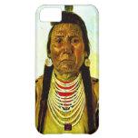Jefe indio nativo gruñón