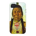 Jefe indio nativo gruñón iPhone 4/4S funda