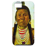 Jefe indio nativo gruñón iPhone 5 funda