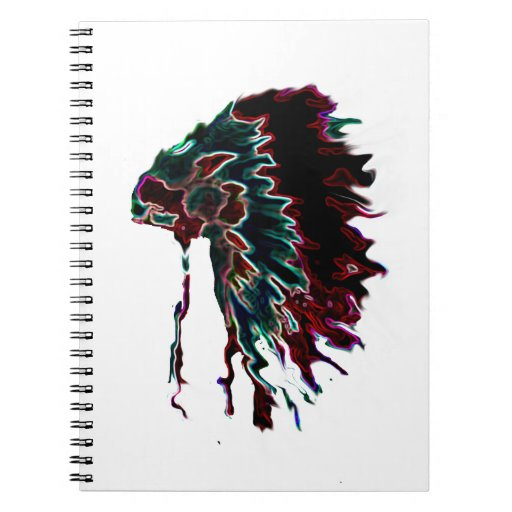 JEFE_INDIO SPIRAL NOTEBOOKS