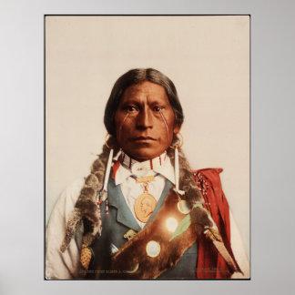 Jefe James A. Garfield de Apache. Póster